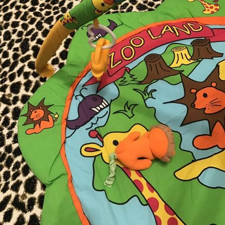 Продам развивающий коврик Canpol Babies Зоопарк.