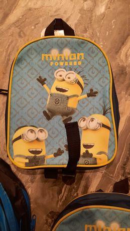Plecak dla dziecka Minionki mały nowy