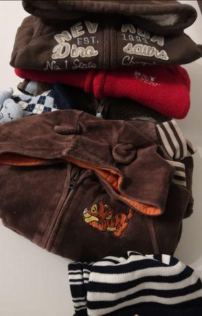 Ciuszki sweterek bluza kamizelka spodnie rozm. 62 - 68 - 92