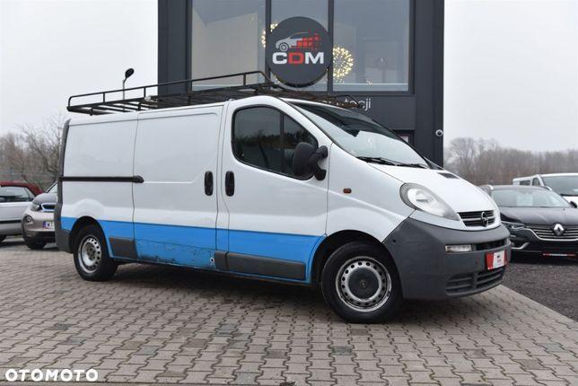 Opel Vivaro  1.9 82 KM L2H1 Certyfikat Bagażnik Zobacz!