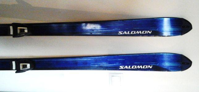 """Sprzedam narty marki """"SALOMON X Free"""" 185 cm z wiązaniami Salomon 600"""