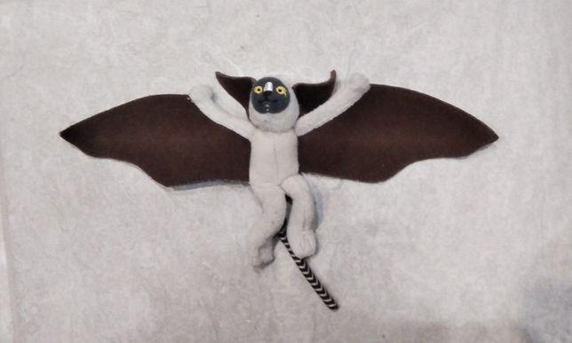 ДАРОМ Мягкая игрушка маленькая летучая мышь и петушок