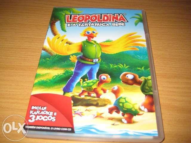 CD Leopoldina e a tartaruga bebe