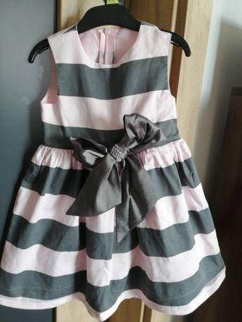 Elegancka sukienka 4-5 lat