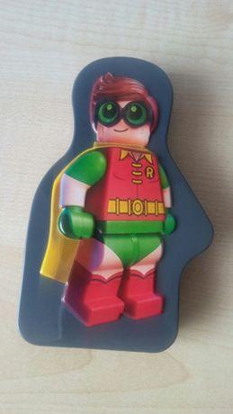 The Lego Group Warner Bros Pudełko metalowe z naklejkami Nowe 13x18cm