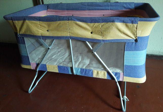 Детская кроватка-раскладушка-манеж