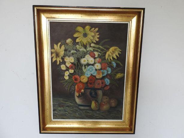 Obraz olejny na płótnie BUKIET KWIATY POLNE 392