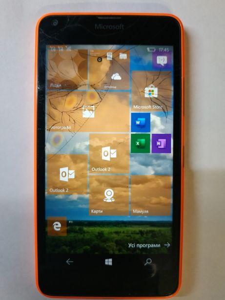 Продам мобильный телефон Microsoft Lumia 640 DS (Nokia) оранжевый
