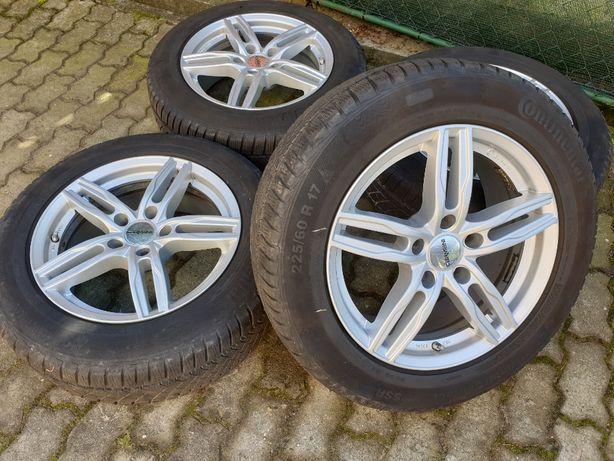 "Felgi aluminiowe 17"" 5x120 BMW X3 X4 F25 F26 E83 VW Transporter TPMS"
