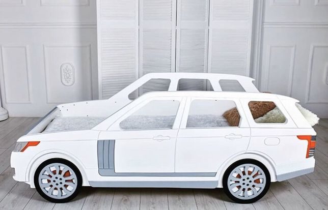 Кровать машина Range Rover, детская кровать