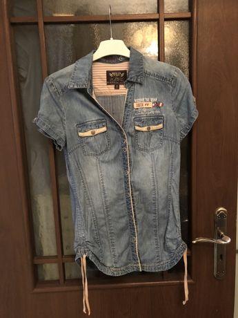 Bluzka jeansowa Soccx Ltd. Rozm. S
