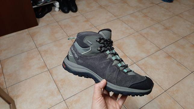 40р,25,5см,Трекинговые ботинки,кроссовки Salomon Ellipse 2 Mid
