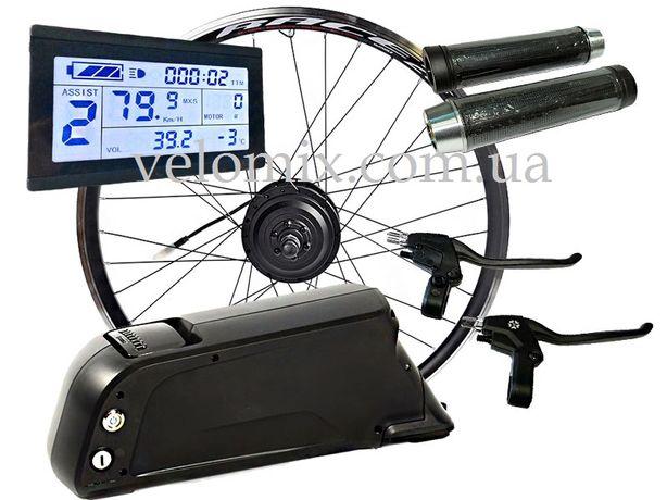 Электронабор для велосипеда.  Контроллер. Мотор-колесо. Ручка газа.