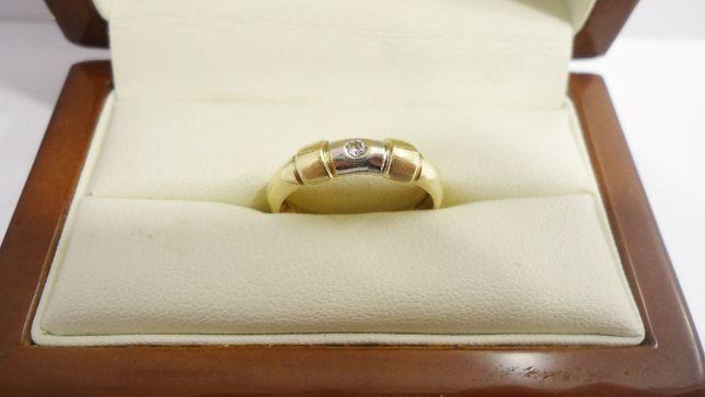 Złoty pierścionek 585 rozmiar 14