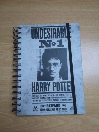 Caderno A5 Harry Potter