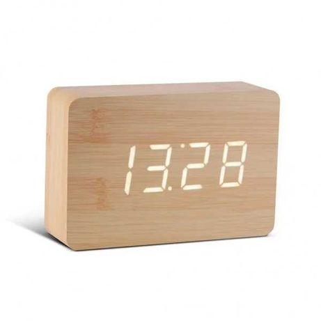 Детский Смарт-будильник деревянный с функцией часов