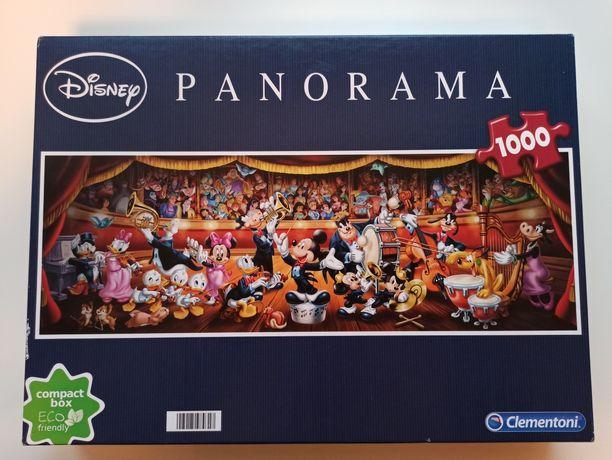 Puzzle Clementoni Disney Panorama 1000 elementów kompletne