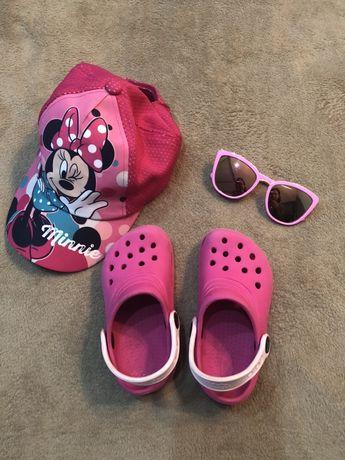 Аквашузы Crocs, Шлепки/ босоножки Кроксы для девочки