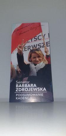 Autograf - Senator Barbara Zdrojewska