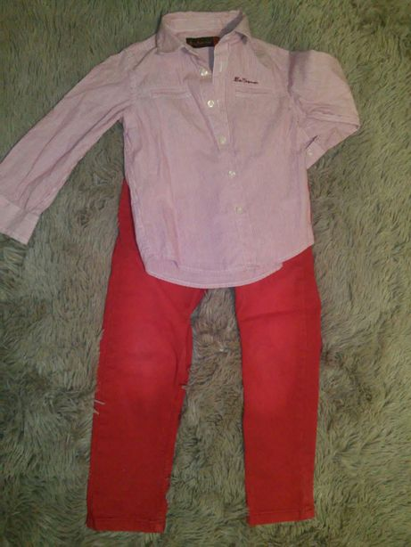Рубашка& штанишки
