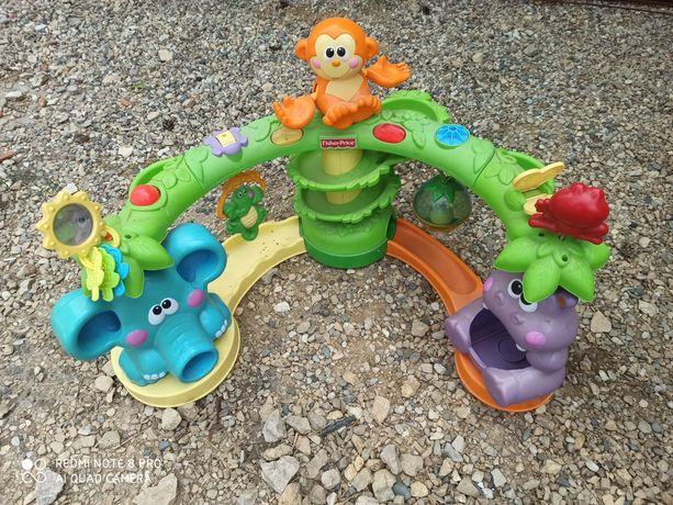 Zabawka Fisher Price Duża XXL gra świeci ruchoma Dżungla
