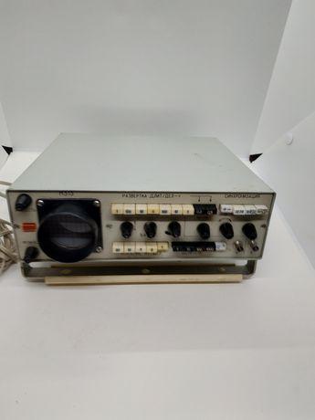 Осциллограф СССР Н-313 советский измерительный прибор радиодетали