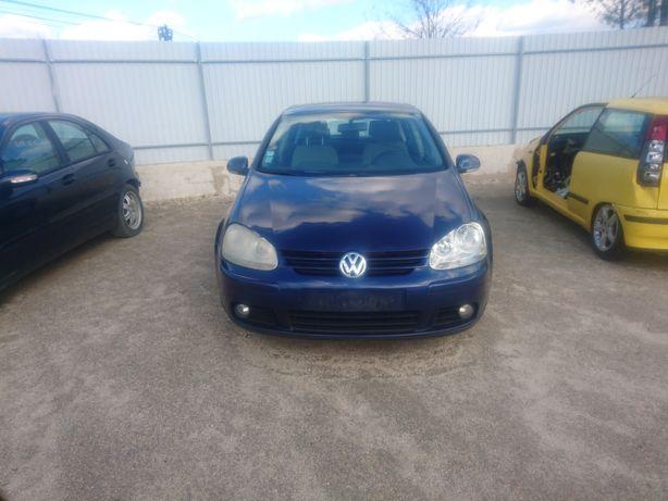 VW golf V, 2000 Tdi, 140cv motor BKD, frente, airbags, porta, caixa.