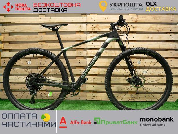 Велосипед гірський 29 Cannondale F-Si Carbon 4 (2020) M, L чорно-сірий