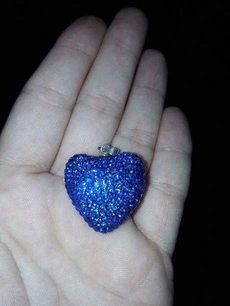 Wisiorek serce kryształy Swarovski PR.925