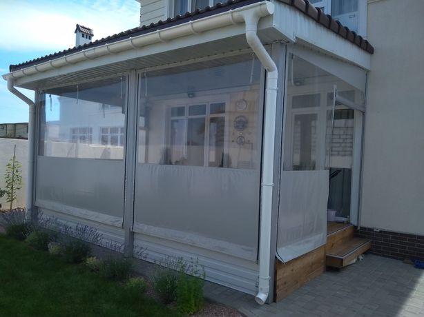 Изготовление пвх шторы (мягкие окна)