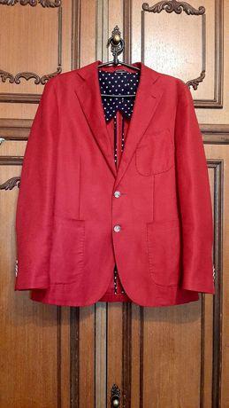 Пиджак мужской  Gutterider Dal 1878 класический красного цвета