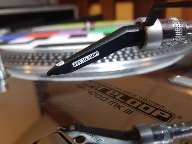 Gramofony Reloop RP 4000 MKIII + mikser Pioneer DJM 500 + case