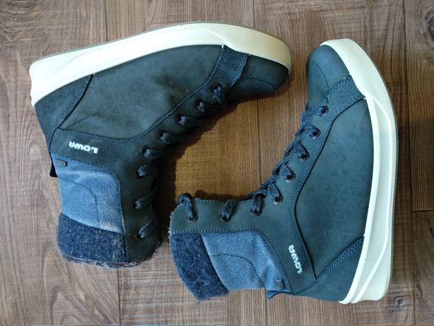 Зимние термо ботинки Lowa Gore-tex 38р. Стелька 24,5