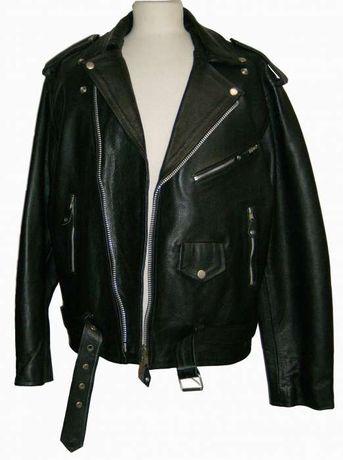 Blusão Rock'n'Roll Brando Leather Jacket Metal Motard