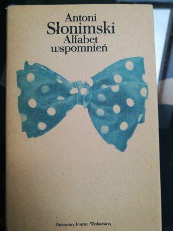 Alfabet wspomnień - książka Antoniego Słonimskiego