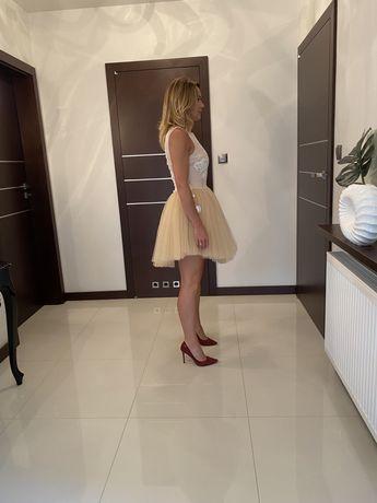 Sukienka Lou collette roz. S