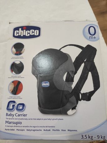 Canguru  Chicco - Go Baby Carrier -  (3,5Kg ate 9Kg)
