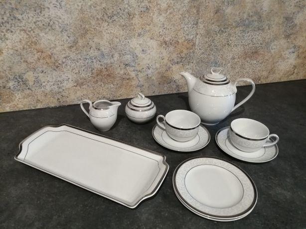 Porcelana Ćmielów, zestaw serwis kawowy 12 osób