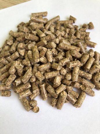 Древесная пеллета, гранула из сосны диаметром 6 и 8 мм 2500 грн