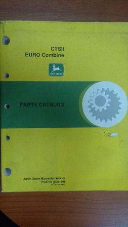 Katalog Części Kombajn John Deere CTSII