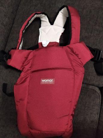 Nosidełko dla niemowląt Womar bordowe