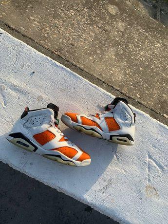 Nike air jordan 6 retro gatorade like mike white