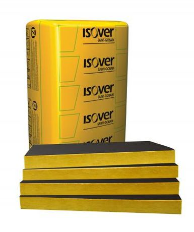 Wełna Isover SUPER-VENT 032 12cm wełna z welonem fasada wentylowana