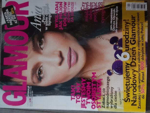 Glamour czasopisma bardzo dużo