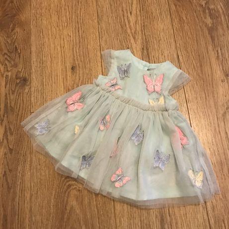 Платье для принцессы 0-3 месяца