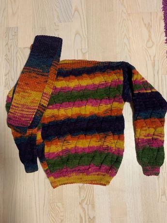 Детские вязаные свитера