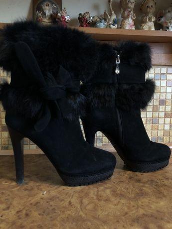 Зимние ботинки!!