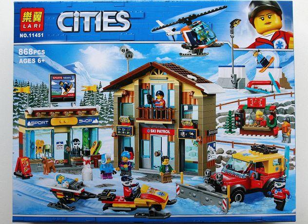 Klocki o jakości lego City, Kurort narciarski