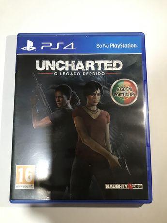 Jogo PS4 Uncharted- O Legado Perdido