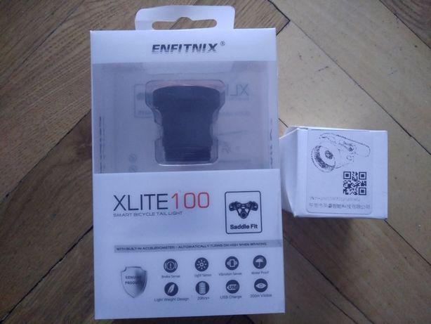 ENFITNIX Xlite100 задний фонарь велосипедный (НОВЫЙ) 2 КРЕПЛЕНИЯ